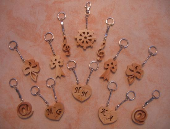 Divers porte clés