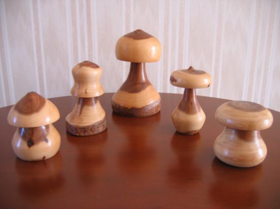 champignons en If