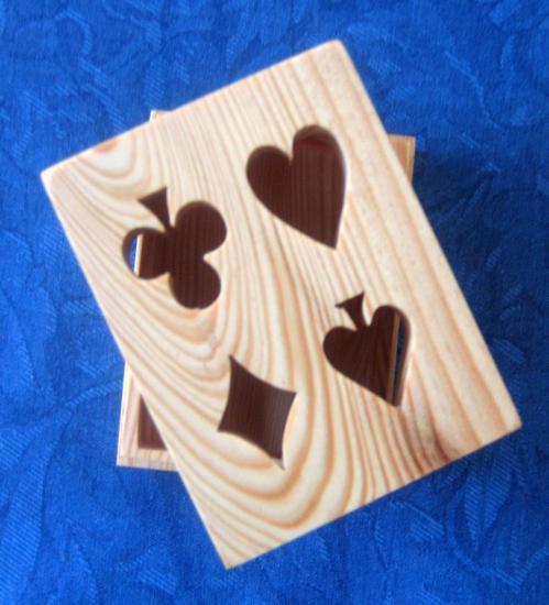 Boite carte à jouer