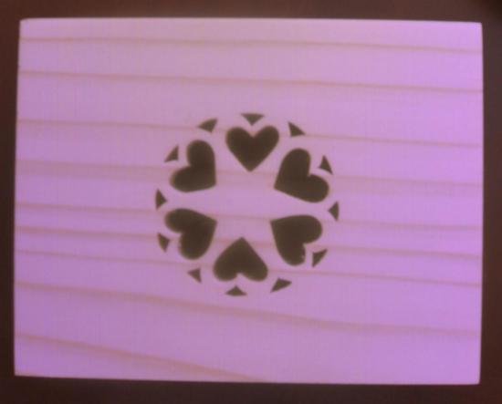 Boite motif coeur